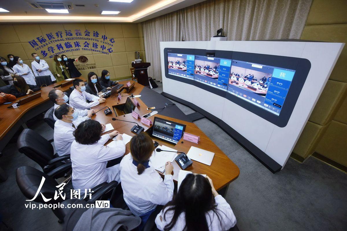 """杭州医疗专家与墨西哥专家分享战""""疫""""经验"""