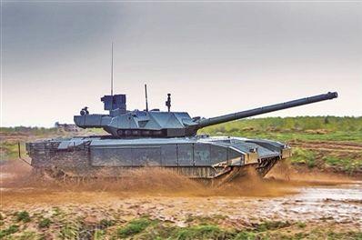 世界上第一款第四代主战坦克——俄T-14坦克通过实战测试意味着什么?
