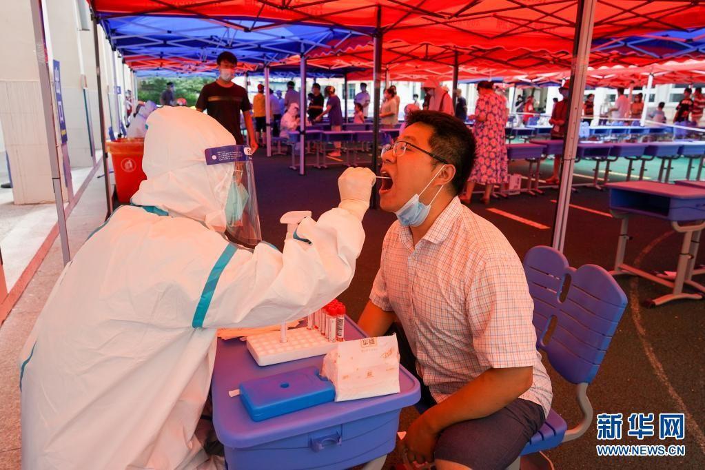 扬州主城区开展第六轮大规模核酸检测