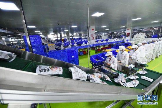 柳州螺蛳粉销量持续快速增长