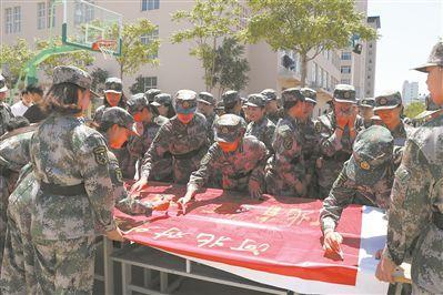 河北省秦皇岛市在全市10所高校组建大学生国防实践团