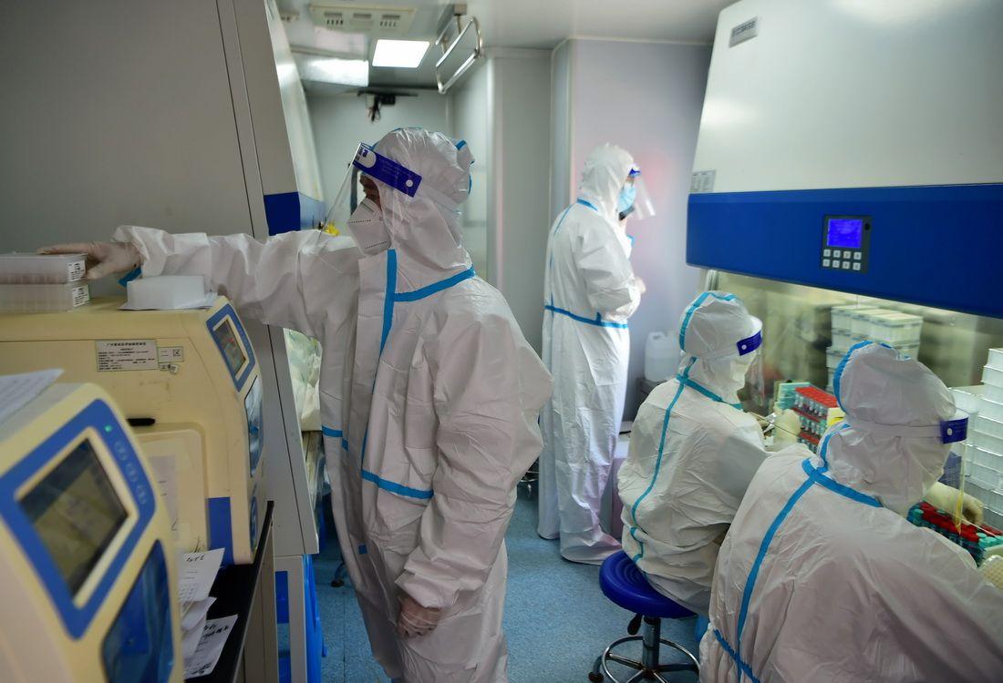 探访防疫一线的方舱核酸检测点【3】